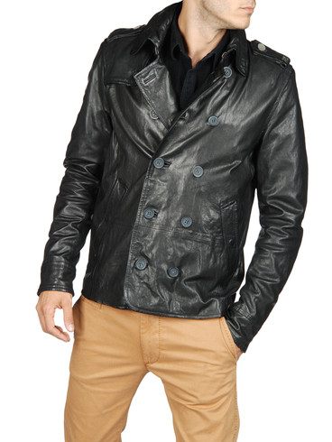 DIESEL - Leather jackets - LAHAR