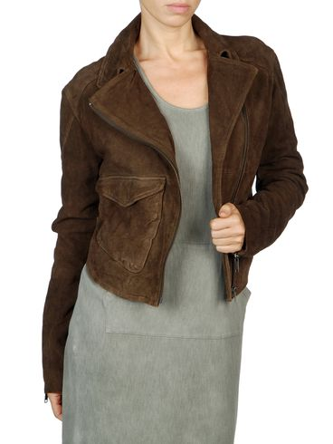 DIESEL - Veste de cuir - L-SIENNA-B
