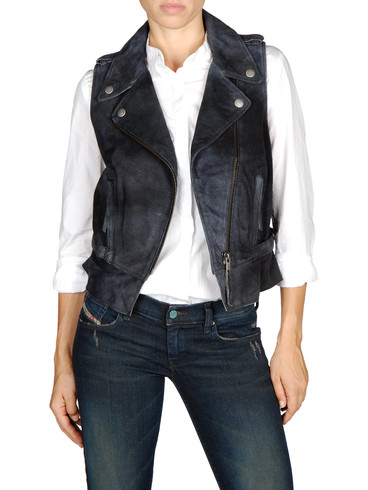 DIESEL - Leather jackets - L-COLINE