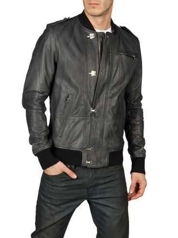 DIESEL - Leather jackets - LUGH