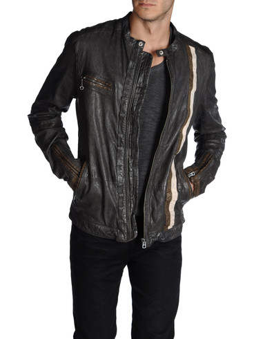 DIESEL - Leather jackets - LOMAMI