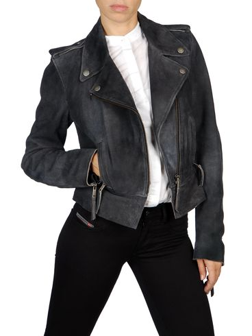 DIESEL - Leather jackets - L-PREMISE