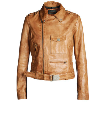 DIESEL BLACK GOLD - Leather jackets - LAVAN