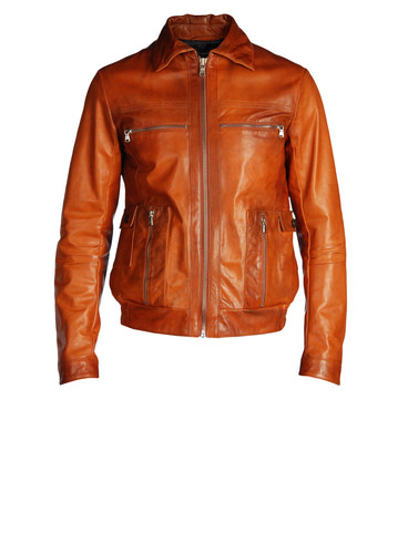 DIESEL BLACK GOLD - Leather jackets - LEVONY