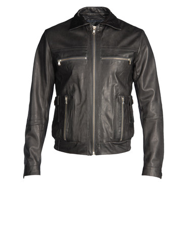DIESEL BLACK GOLD - Lederjacke - LEVONY