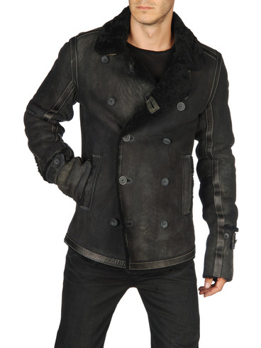 DIESEL - Leather jackets - LAGUA