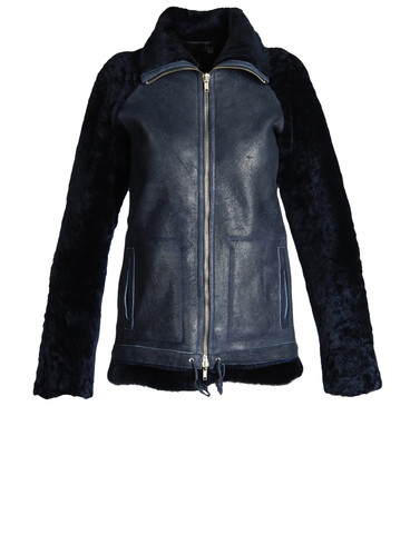 DIESEL BLACK GOLD - Leather jackets - 41301736