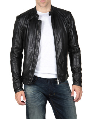 Diesel Leather Jackets - Leide 00kxt - It