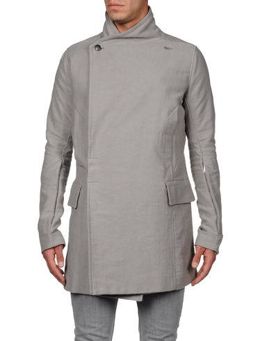 RICK OWENS - Mid-length jacket