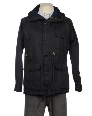 WOOLRICH WOOLEN MILLS - Mid-length jacket