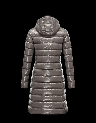 MONCLER Women - Autumn-Winter 13/14 OUTERWEAR - Coat - Moka