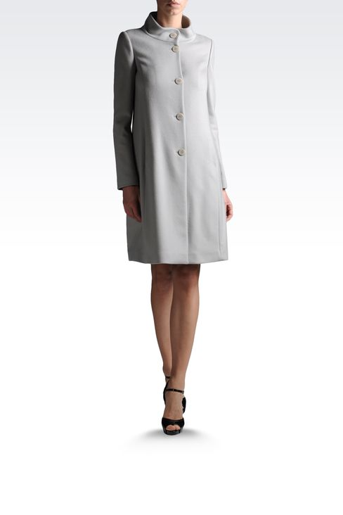 Coats: Capes Women by Armani - 1