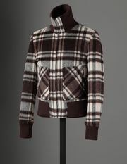 CHECKED COAT - Down jackets - Dolce&Gabbana - Winter 2016