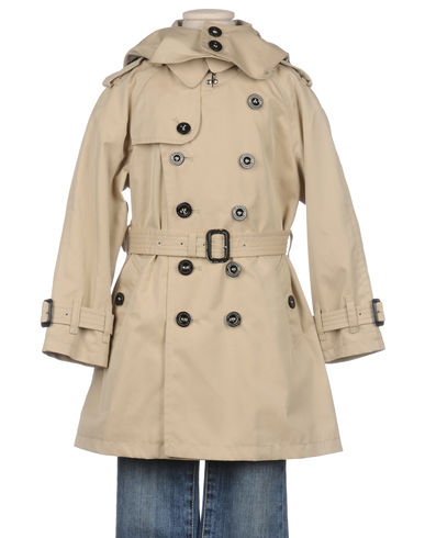 BURBERRY - Full-length jacket