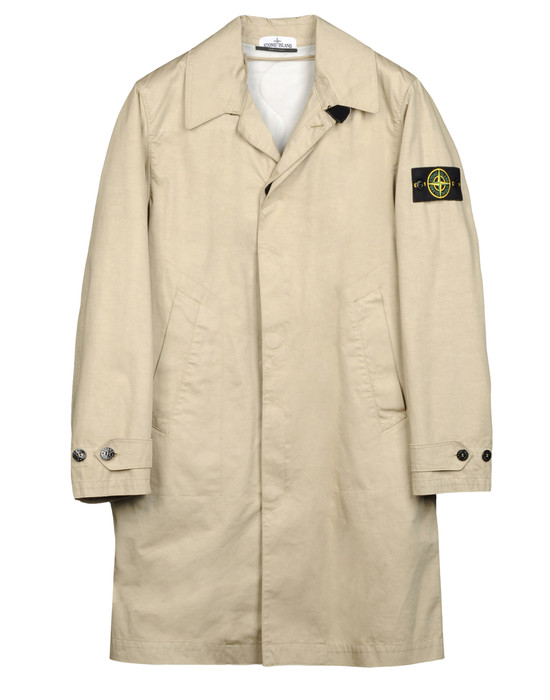 Full-length jacket  STONE ISLAND - 0