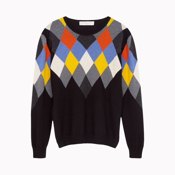 Stella McCartney, Argyle Crew Neck Jumper