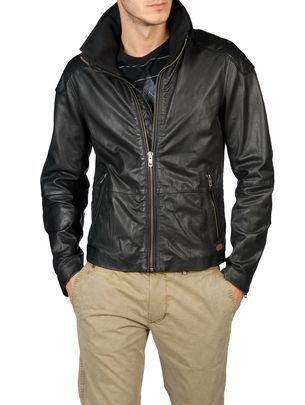 Diesel Leather Jackets - Literal 00wny - 