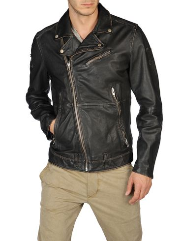 DIESEL - Leather jackets - LAPISMIUM