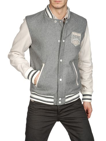 DIESEL - Veste de cuir - LASIOCEREUS