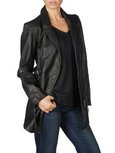 DIESEL - Leather jackets - L-ELIGOS