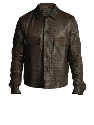 DIESEL BLACK GOLD - Leather jackets - LASKILLO