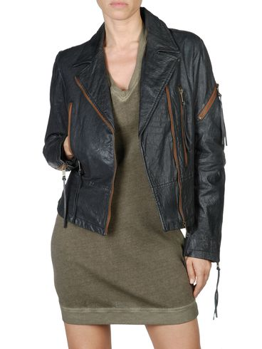 DIESEL - Leather jackets - L-NIX