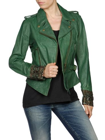 DIESEL - Leather jackets - L-PREMISE-D