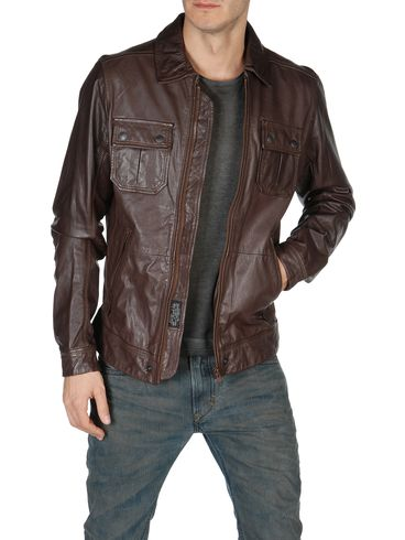 DIESEL - Leather jackets - LORDID 00WNY