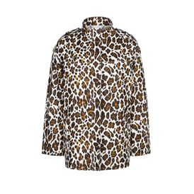 STELLA McCARTNEY, Medio, Caddington Jacket - Giacca in Voile con Stampa Leopardo