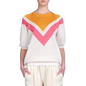 STELLA McCARTNEY, Sweater, Colour Degrade Short Sleeved Sweater