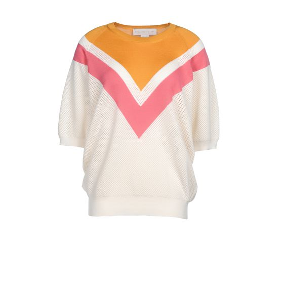 Stella McCartney, Colour Degrade Short Sleeved Sweater 
