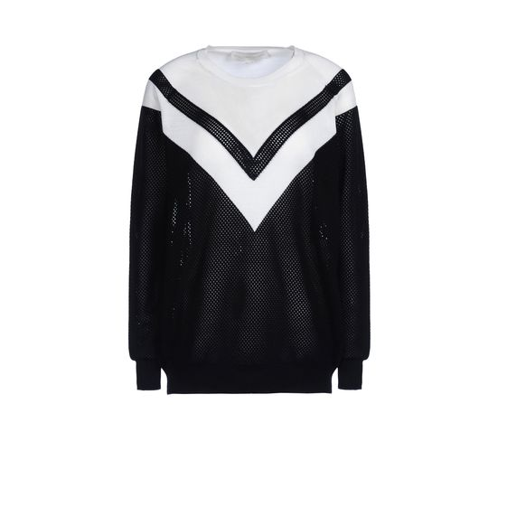 Stella McCartney, Colour Degrade Crew Neck Sweater