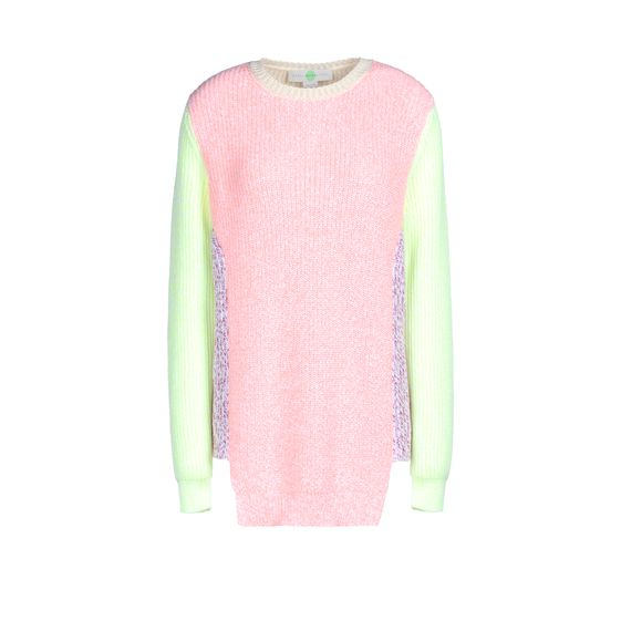Stella McCartney, Block Shapes Crew Neck Sweater