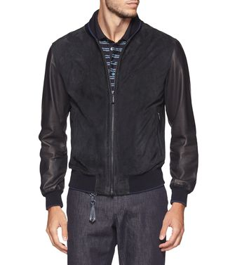 Leather outerwear  ERMENEGILDO ZEGNA