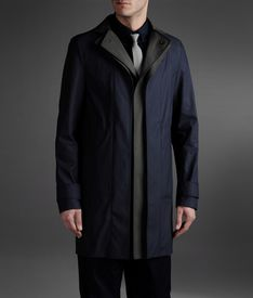 EMPORIO ARMANI - Single-breasted coat