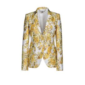 STELLA McCARTNEY, Tailleur, Veste Roman en jacquard floral acidul
