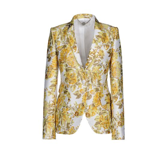 Stella McCartney, Citrus Floral Jacquard Roman Jacket
