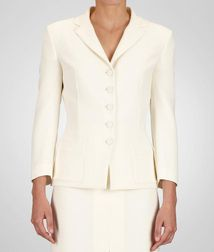 Coat or JacketReady to Wear65% Triacetate, 35% PolyesterWhite Bottega Veneta