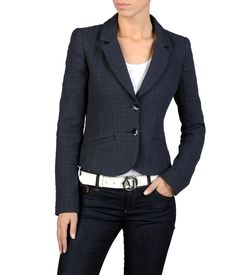ARMANI JEANS - Two button jacket
