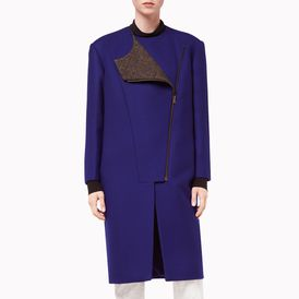 STELLA McCARTNEY, Long, Asymmetric-Zip Coat