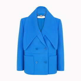 STELLA McCARTNEY, Short , Dense Blue Oliver Jacket