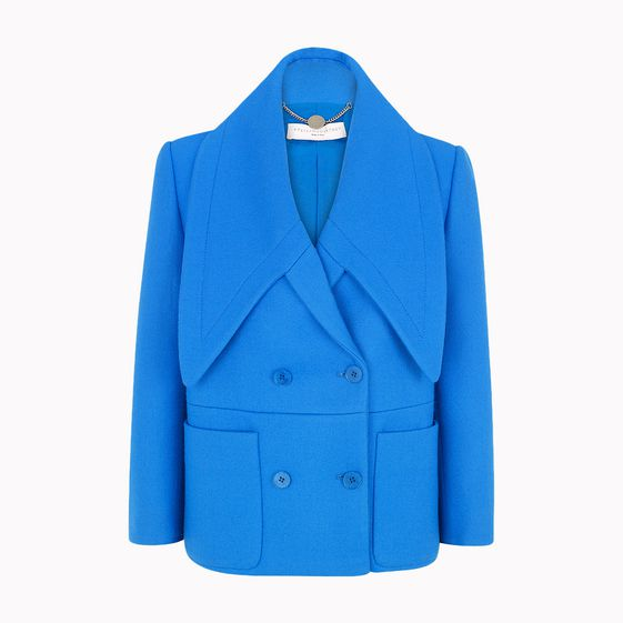 Stella McCartney, Blaue Wolljacke Oliver