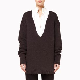 STELLA McCARTNEY, V Neck, Oversize V Neck Jumper