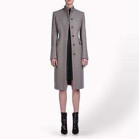 STELLA McCARTNEY, Long, Compact Felted Wool Jenny Coat