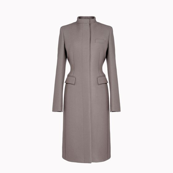 Stella McCartney, Compact Felted Wool Jenny Coat