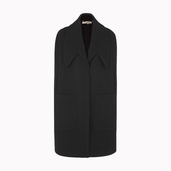 Stella McCartney, Brushed Wool Hudson Cape