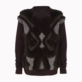 STELLA McCARTNEY, Jumper, Bark Textured 3D Tufted Jumper