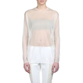 STELLA McCARTNEY, Sweater, Transparent Insert Crew Neck Sweater