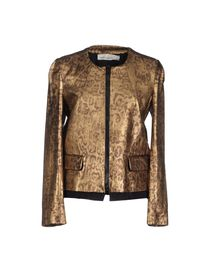 GOLDEN GOOSE - Leather outerwear