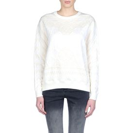 STELLA McCARTNEY, Sweatshirt, Pull à manches longues en calicot jacquard